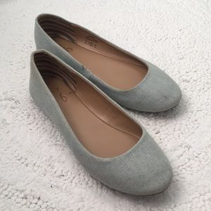 Light Blue Flats